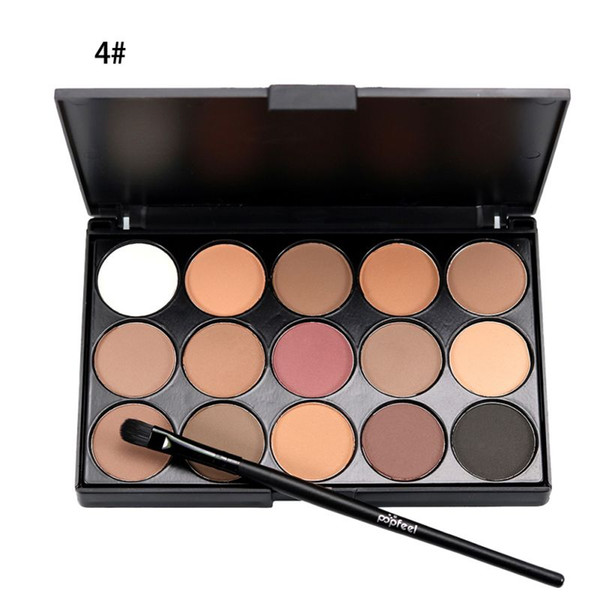 Al por mayor-Sombra de Ojos Natural Comestic Larga Duración Maquillaje Sombra de Ojos Paleta Sombra de Ojos Maquillaje Set Mujeres Profesionales