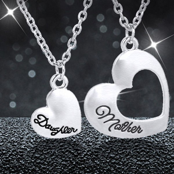 Wholesale new mother daughter necklace dual love heart pendants for new mother daughter necklace dual love heart pendants for women girls family best friends jewelry mothers aloadofball Gallery