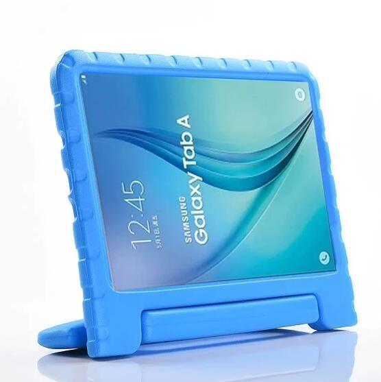 Tragbare Kinder Safe Foam Shock Proof EVA Schaum Griff Abdeckung Ständer für Samsung Galaxy Tab 4 Registerkarte A A6 10,1