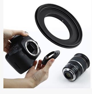 Trasparente shippping PK-49 49mm Anello adattatore per obiettivo retromarcia macro per fotocamera DSLR penxtax