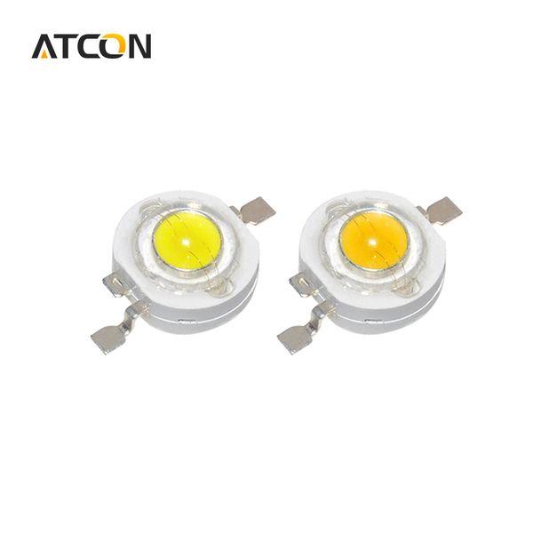 10pcs verdadero vatio lleno CREE 1W 3W LED de alta potencia bombilla Diodos SMD 110-120LM LED Chip para 3W - 18W Spot luz downlight