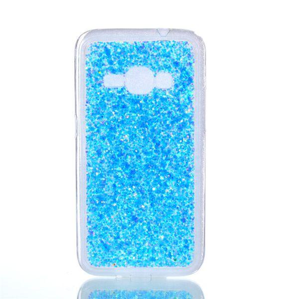 Compre Moda Flash Fatia Phone Case Para Samsung Galaxy J120 J1 2016 Capa De  Acrílico Macio Tpu Silicone Phone Case Para Samsung J1 2016 De Jiaxin008,