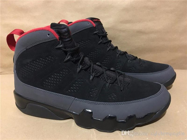 detailed look f2ede 08e45 Discount Sport Sneakers Air Retro 9 Black Red Bred Charcoal 9 302370 005  Sports Retros 9s Charcoal 9 2010 Release With Box From China | Dhgate.Com