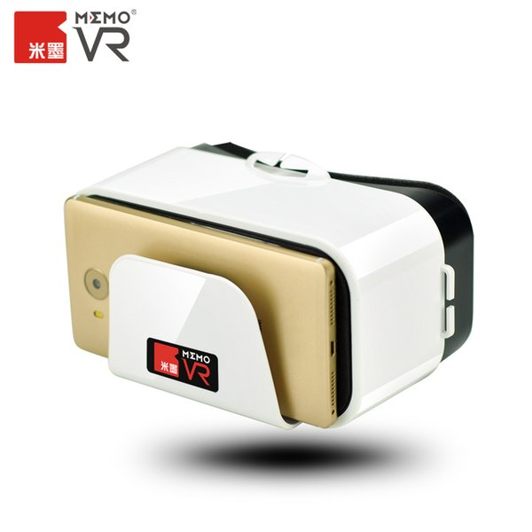 """Wholesale- MEMO Original 3D Glasses Virtual Reality Glasses VR Device For iPhone 4 5 6 7 Plus Samsung Galaxy Sony LG 4.7-6.4"""" Smartphone"""