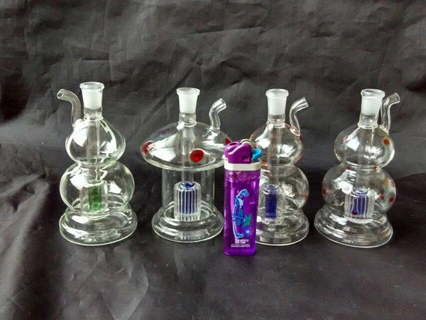 Classic multi-style hookah  , Wholesale Glass Bongs Accessories, Glass Water Pipe Smoking, Free Shipping