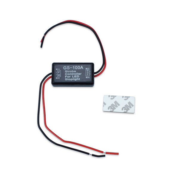 top popular Flash Strobe Controller Flasher Module for LED Stoplight Brake Tail Stop Light 12-16V GS-100A 2021