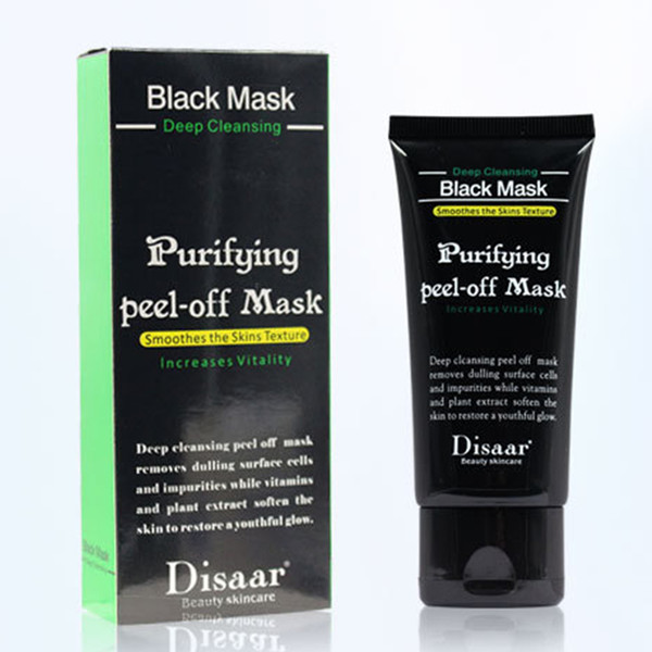 DHL DISAAR Blackheads Remover Deep Cleansing Black Mask Peel Off Mud Mask Acne Treatment Black Heads Remover Pore Cleaner Facial Mask