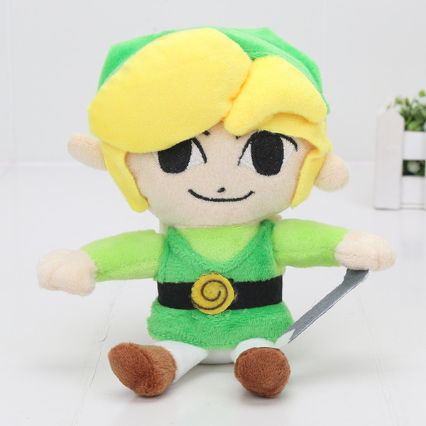 "5PCS 8""20cm The Legend of Zelda Plush Toys Stuffed Doll Brithday Super Soft Gift For Boy Doll Kids Toys"