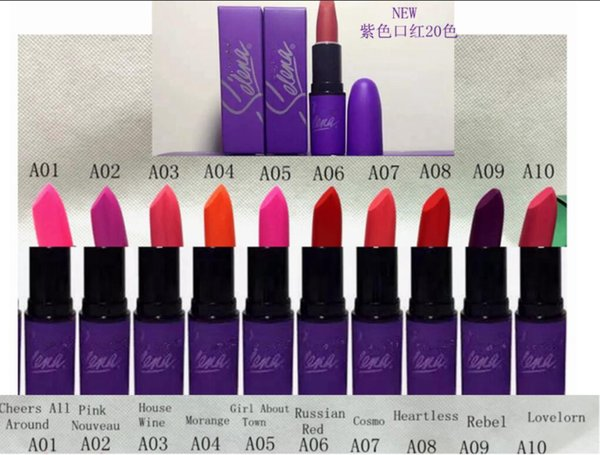 HOT NEW Selena Collection LIQUID LIPSTICK MATTE 20 color DHL Free shipping