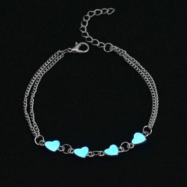 New arrival Bursts of love glowing fashion bracelet luminous bracelet FB546 mix order 20 pieces a lot Link, Chain