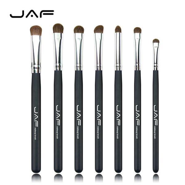 JAF 7Pcs/set Pincel maquillaje profesional Makeup Brushes Horse Hair Eyeshadow Cosmetic Foundation Makeup Brushes Set J07001