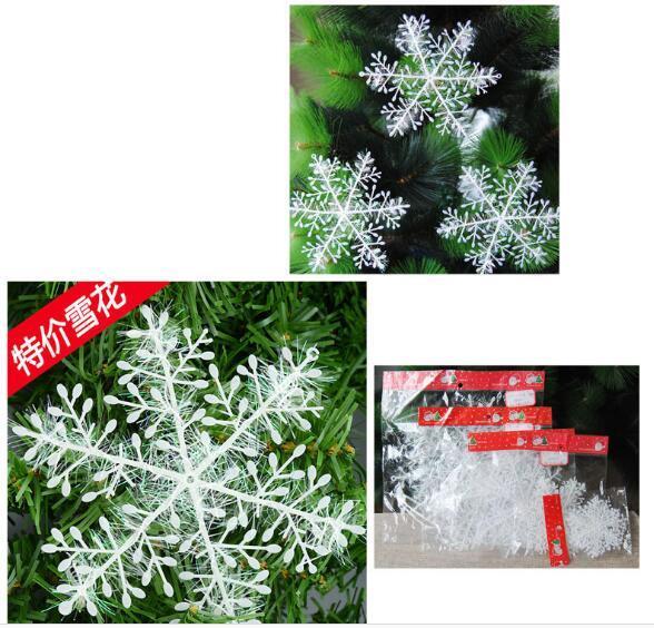 Adorno Flatback 3psc Christmas Snowflake Scrapbooking Colgante Decoraciones de Navidad para el hogar DIY 3.65x3.4cm