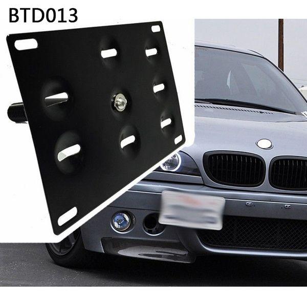 RASTP - Ön Tampon Çekme Kancası Araç Plakası, BMW Fit / Jazz için Tutucu Tutacağı 08 Yaris Mitsubishi Lancer LS-BTD013