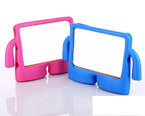 Shockproof EVA Plastic Foam Case Cover Kids Stand Design For Ipad 1/2/3/4 Air 2 pro 9.7 ipad mini 1 2 3 4 Galaxy TAB 7.0 10.1 30PCS/LOT