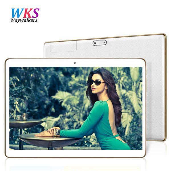 Toptan-Waywalkers 9.6 inç Tablet pc Google Android 5.1 4 GB RAM 64 GB ROM Tablet Bluetooth GPS Çift Sim Kart Tabletler Octa Çekirdek MT6592