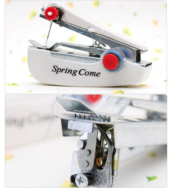Small manual household sewing machine mini portable pocket-sized travel creative sewing simple compact handheld sealer