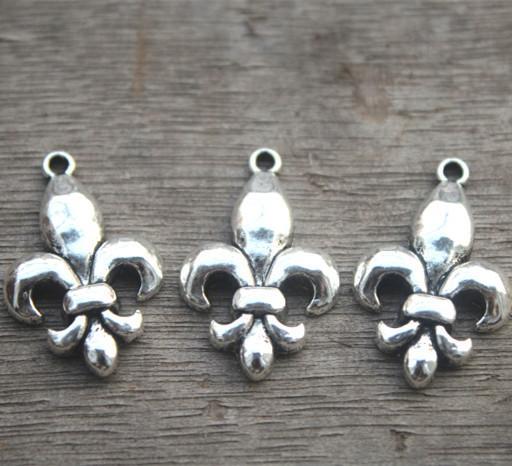 Wholesale 21//50Pcs Tibetan Silver Flower type Connectors 20x14mm Lead-Free