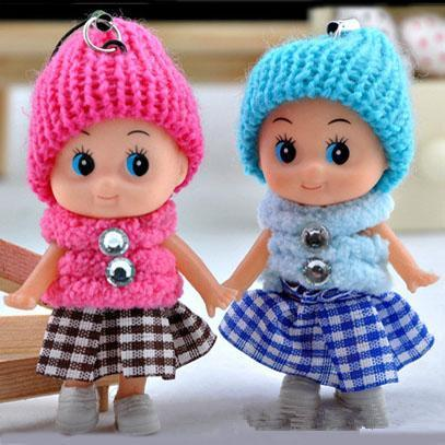 2017 New Kids Toys Dolls Soft Interactive Baby Dolls Toy Mini Doll For Girls Cheap Gift Free Shipping