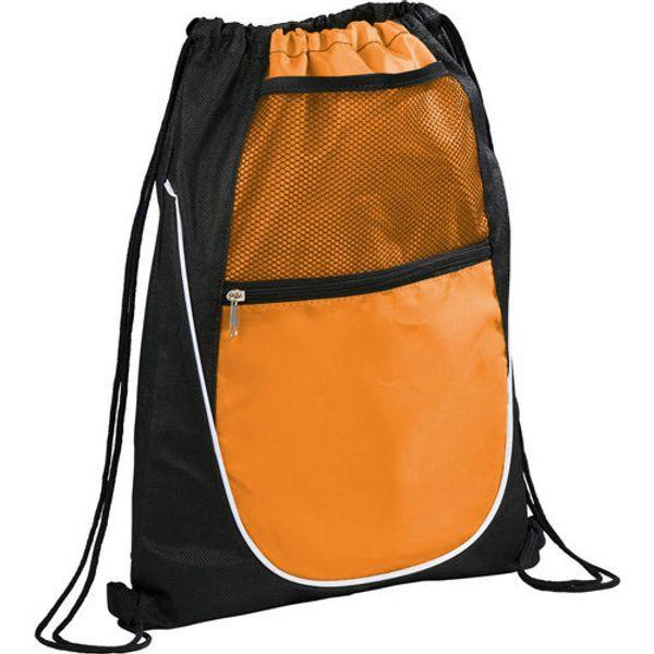 Wholesale- 7 Colors Drawstring Bag Backpack Mesh Pocket Bag for Men Zipper Bag Large Capacity Womens Blosas Pouch Sack Unisex 222