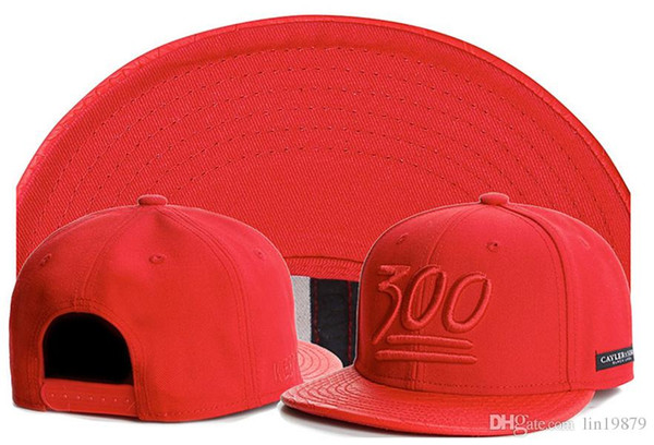 summer style Cayler & Sons 300 leather red baseball caps hip hop snapback hats casquette embroidery letter cap bone for men women apparel