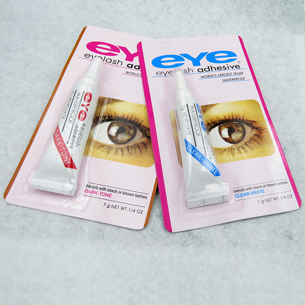 299eb013448 Hot new Eye Lash Glue Black White Makeup Adhesive Waterproof False Eyelashes  Adhesives Glue White And