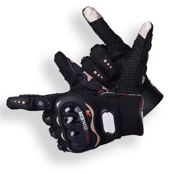 top popular Fashion New Screen Touch Motorcycle Gloves Luva Motoqueiro Guantes Moto Motocicleta Luvas De Moto Cycling Motocross Gloves 01CP Gants Moto 2019