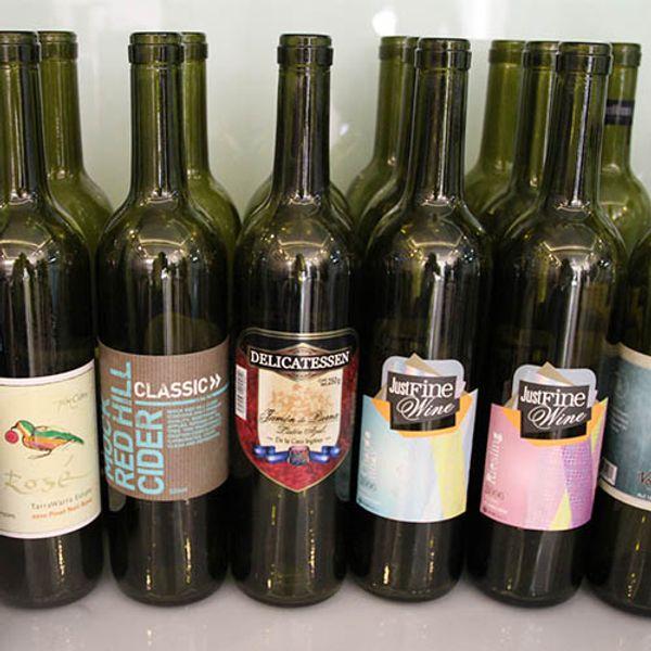 Acheter Autocollant Personnalisé Détiquette Imprimée Couleur Pour Le Vin Avec Lautocollant Logo De La Marque Privée Livraison Gratuite De 6031 Du