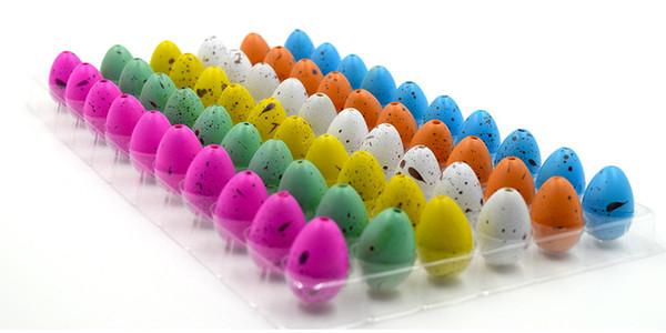 Dinosaur Egg Jouet Jouet Speckle Roman Créatif Coloré Magic Cracks Cultiver Cassé Coquille D'eau Hatching 0 29nz C R