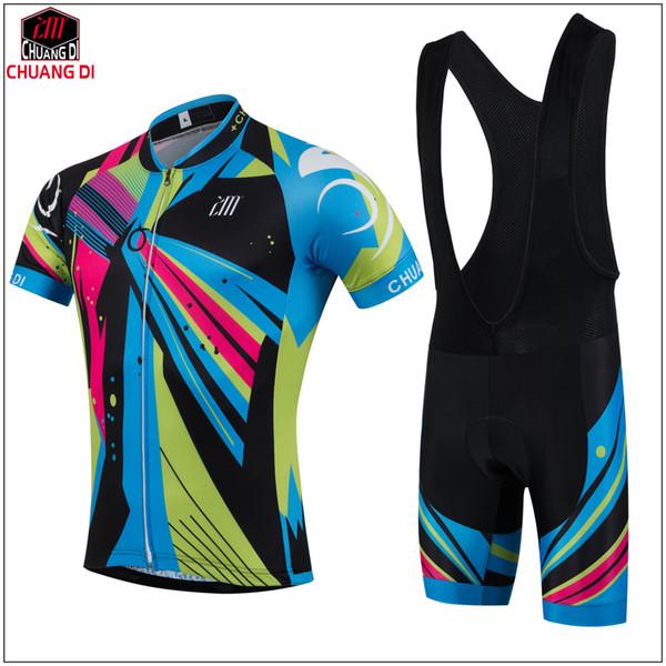 ZM цвет прохладный мужской черный Велоспорт носить короткие Джерси велосипед Джерси Велоспорт одежда