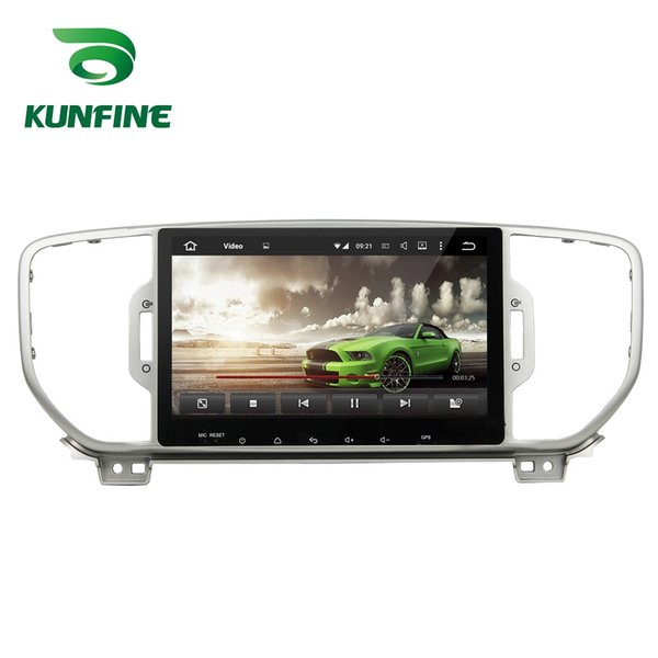 Octa Core 2GB RAM Android 6.0 Car DVD GPS Navigation Multimedia Player Deckless Car Stereo for Kia Sportage 2016 Radio Headunit free map