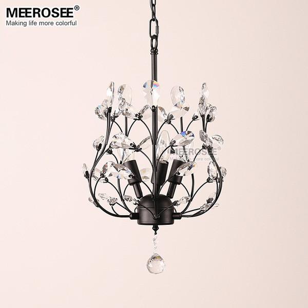 Modern Crystal Chandelier Light Fixture American Style Hanging Kronleuchter Dining room Lamp Restaurant Lighting