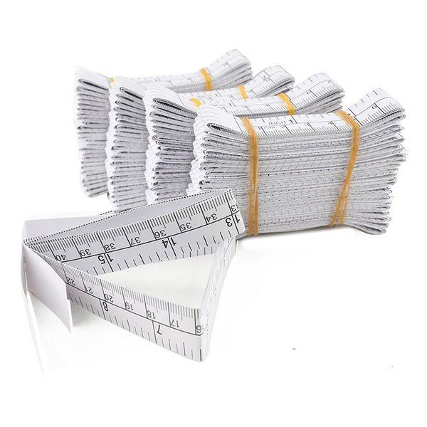 "best selling 1 Meter 40"" Paper Tape Measure Disposable Paper Measuring Tape Ruler Educare Used Measuring Babies Head Wholesale 100PCS"