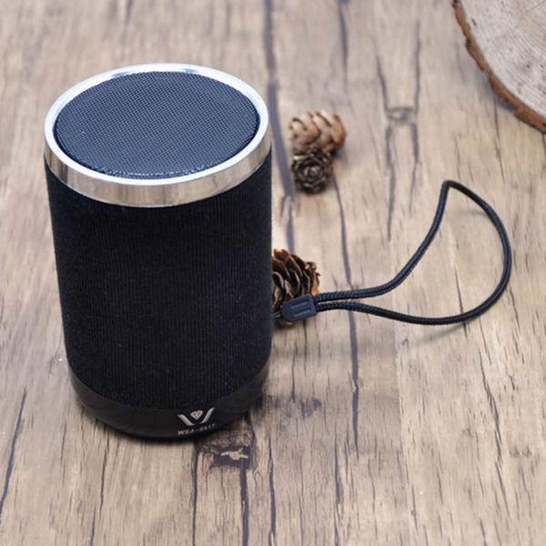Tela Altavoces Bluetooth pequeños Batería de 3W 600 mah Altavoces móviles Buena Altavoz Bluetooth Comentarios Nuevo modelo