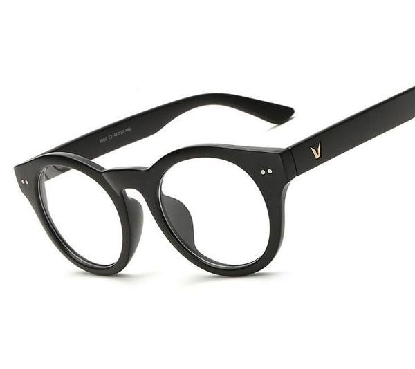 d45c51c2382 Wholesale- N69 NewV-Shaped Eyeglasses Frame Brand For Women Fashion Men Optical  eye glasses Frame Eyewear Oculos De Grau Armacao Femininos