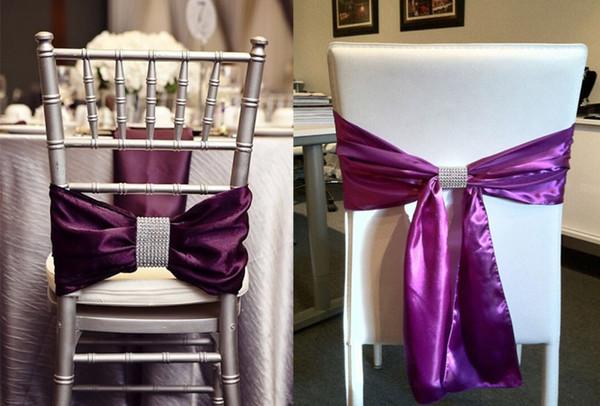 Wholesale- 10PCS/Lot Mesh Trim Bling Diamond Napkin Ring Serviette Holder Roll Crystal Ribbons Wedding Banquet Dinner Table Decor Favor