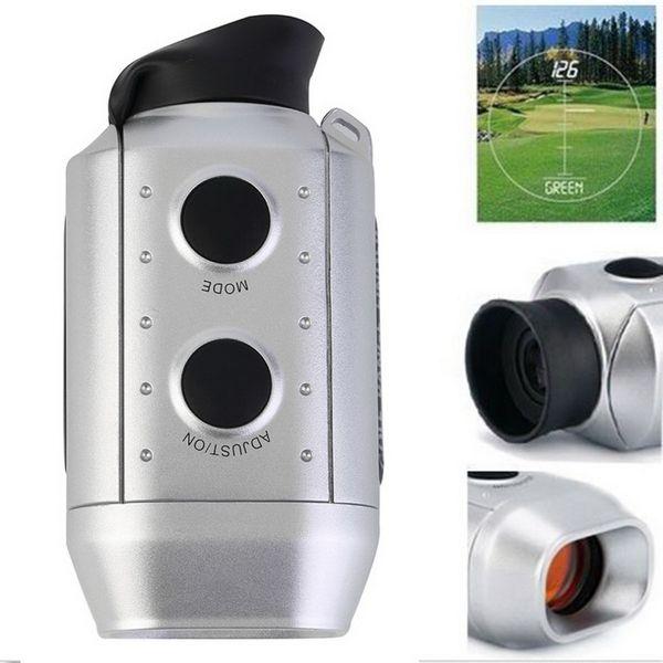 Wholesale- 1 Set Digital 7x RANGE FINDER Golf / Caccia Laser Range Finder di alta qualità