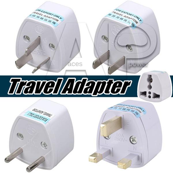 Univer al power adapter travel adaptor au u eu uk plug charger adapter converter 3 pin ac power for au tralia new zealand