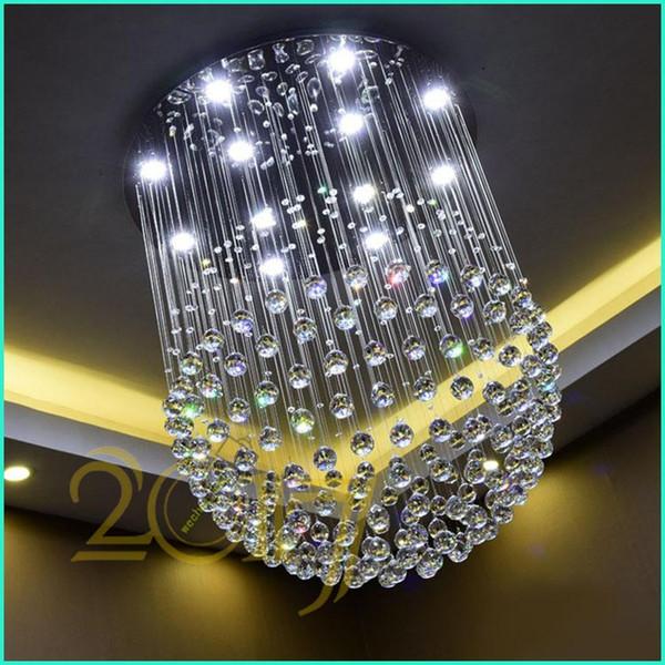 Lampadari A Palla Moderni.Acquista New Modern Led K9 Lampadari Di Cristallo Palla Di Vetro Luce Lampadario A Bracci Lampadario Moderno Luci Lampadario Trasparente Palla