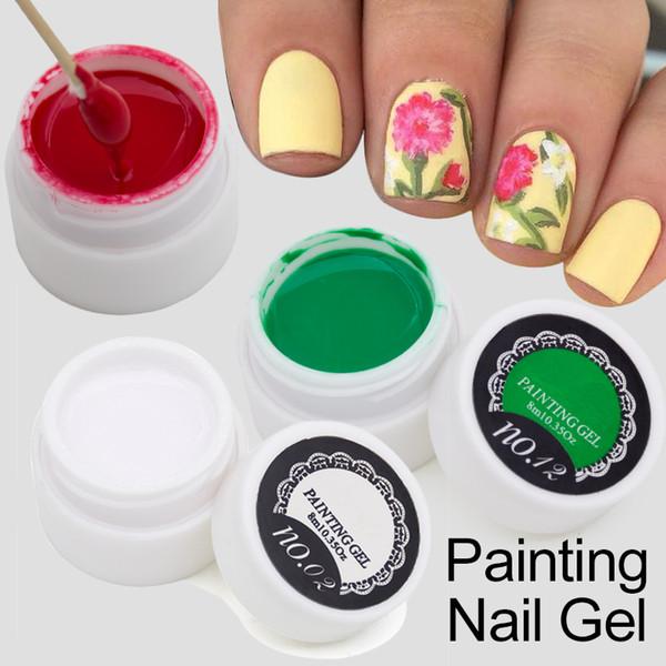 Wholesale Painting Lacquer Gel Semi Permanent Nail Polish Uv Gel ...