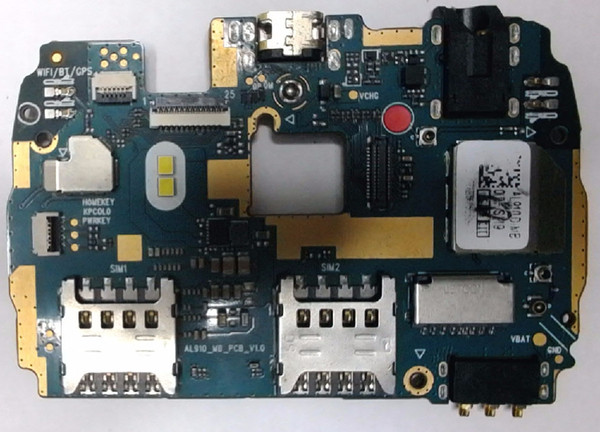 Unlocked used test work well for lenovo A5860 motherboard mainboard board card fee chipsets free shipping