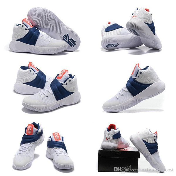 hot sale online 20394 9099f Free Shipping Kyrie Irving 2 Men Basketball Shoes 2016 Kyrie 2 July 4th USA  Basketball Shoes