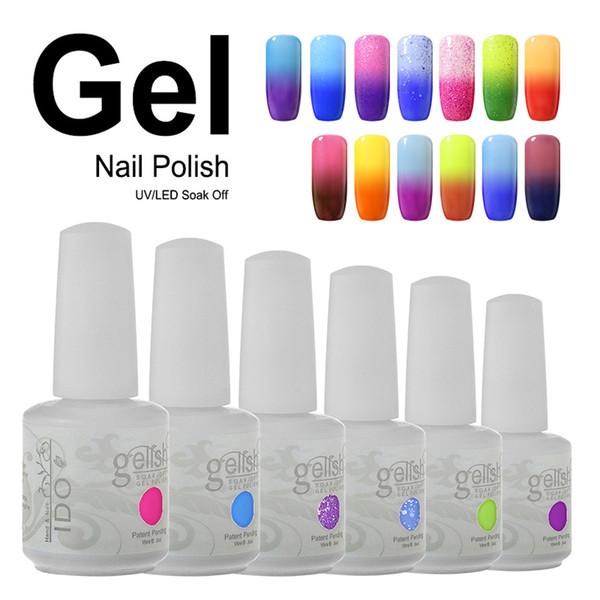 Ido Gelish Nail Art Soak Off Temperature Color Changing Gel Nail ...