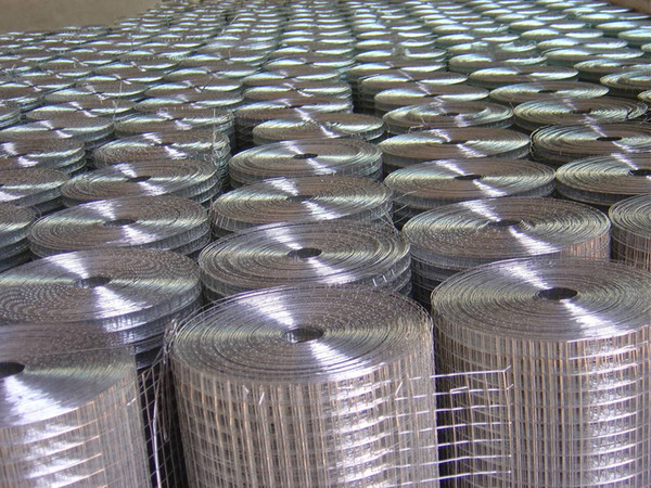 2018 Factory 16 Gauge Galvanized Welded Wire Mesh Rolls Stainless ...