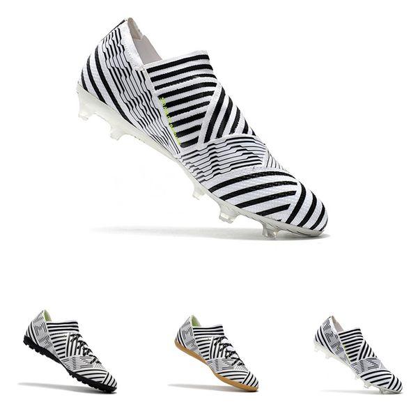 Nuevo Nemeziz 17+ 360 tacos de fútbol Agility FG Nemeziz Tango 17.3 IC zapatos de fútbol de fútbol calcetines al aire libre botas de fútbol tamaño TG 36-45