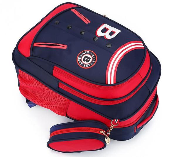 best selling 2017. Schoolbag. Pupil. Boy. Girl. Children's bags. Backpack. Junior school student. Oxford cloth. Nylon.School Bags.