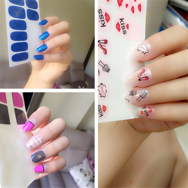 Nail Stickers Nail Art Charms Manicure Bronzing Decals Nail Art