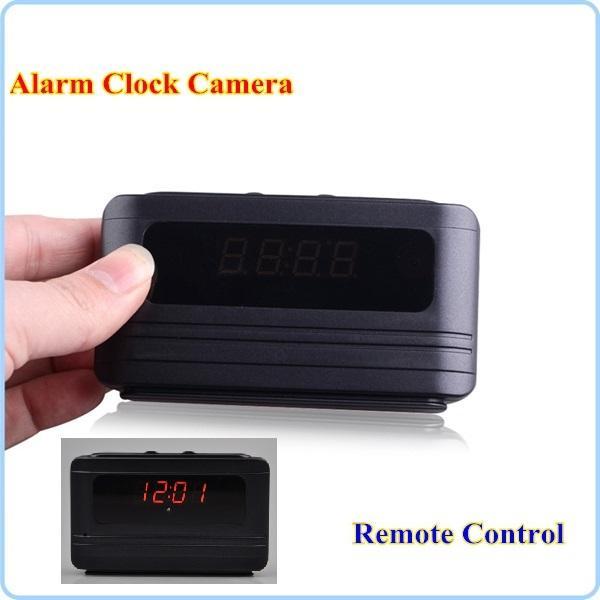remote control Clock camera HD 720P motion Detection video recorder Table alarm clock DVR home security CCTV Cam Nanny Camera