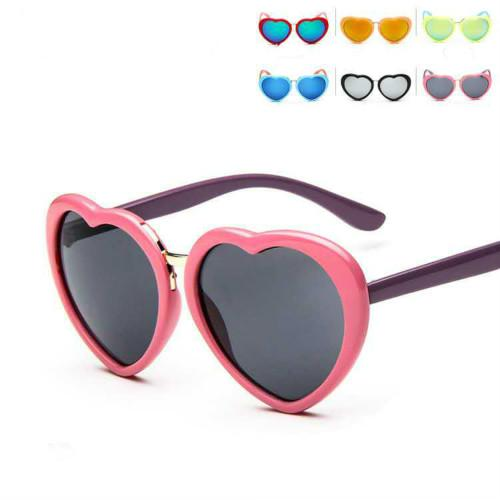 kids designer sunglasses  2017 Kids Girls Fashion Sunglasses Love Shades Fishontrendy Summer ...