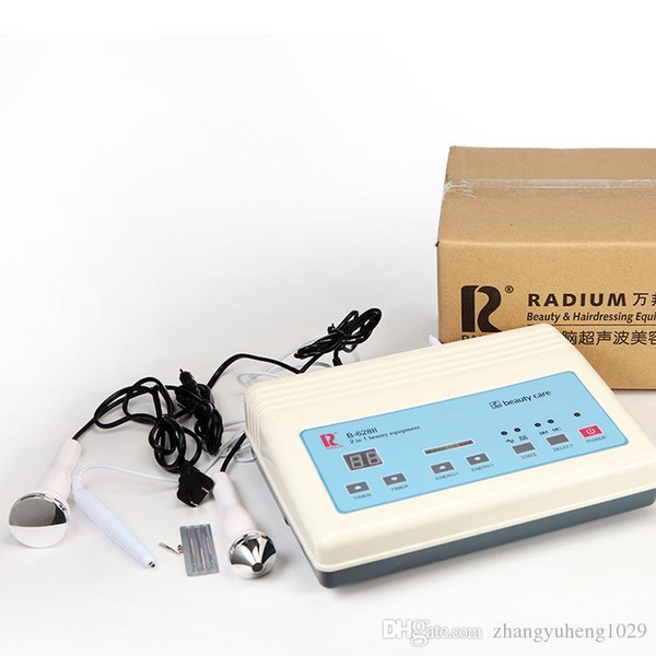 2016 3in1 Ultrasonic Ultrasound skin Spot remover Mole Tattoo Removal Body Therapy Face spa device Massage instrument Beauty Machine