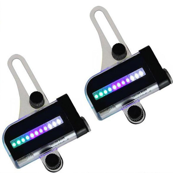 Wholesale- 1Pcs 14 LED Cycling Bicycle Bike Wheel Signal Tire Spoke Light For Ciclismo 32 Changes Luces Led Bicicleta